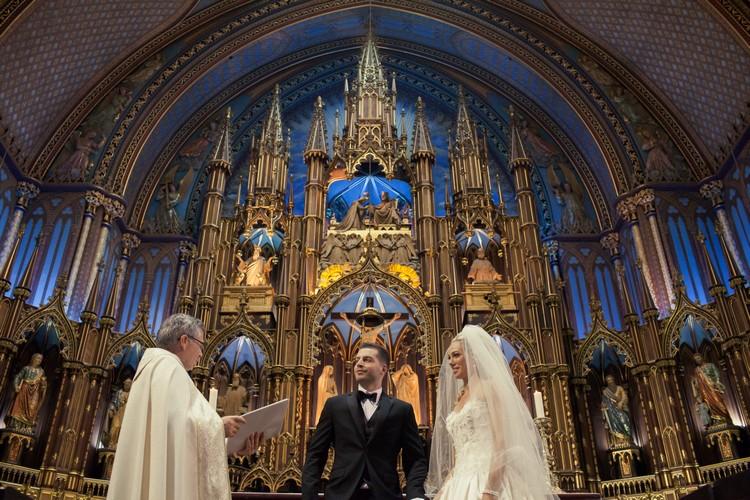 不少人喜欢在这里举办婚礼。