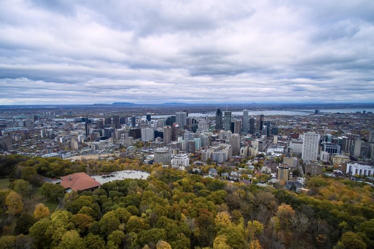 在这里,可鸟瞰美丽的蒙特利尔市区。