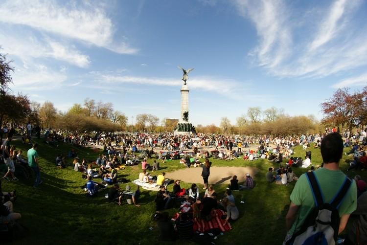 皇家山公园,是蒙特利尔民众热门的休闲场所。