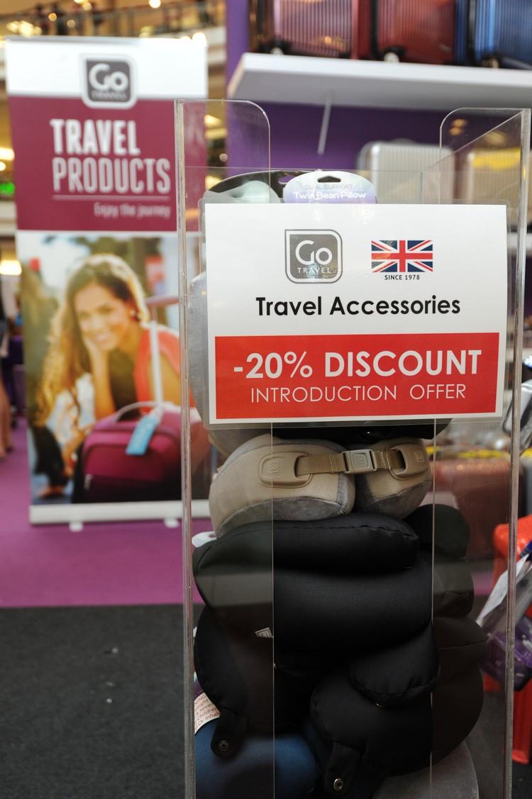 颈枕是 Go Travel 其中一个最畅销的旅游配件。