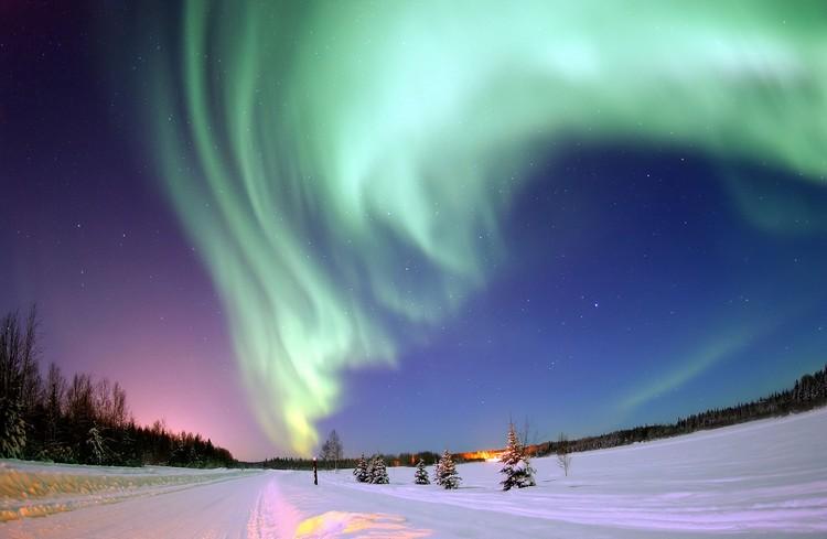 大马的游客,赶快追寻北极光去吧!