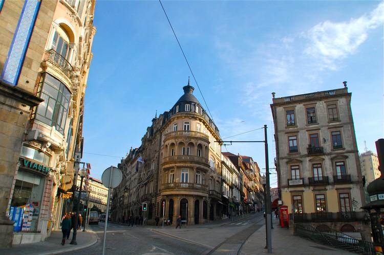 Cais da Ribeira老城区一隅。