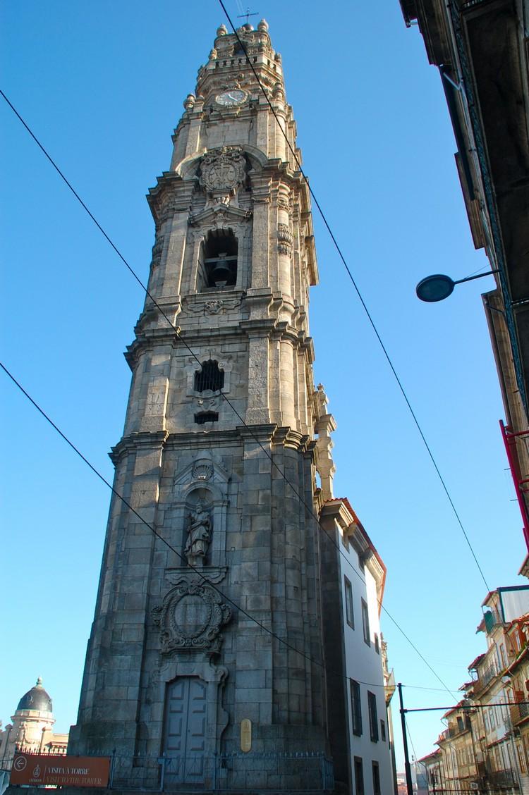 Igreja dos Clérigos教堂高塔。