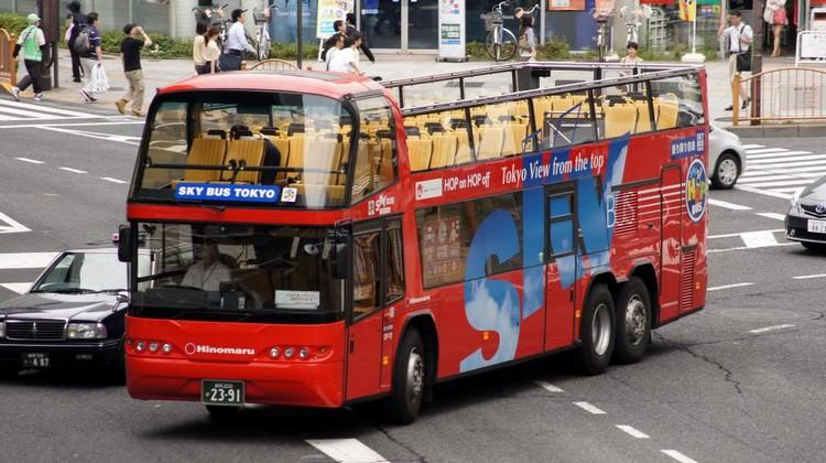 东京露天观光巴士