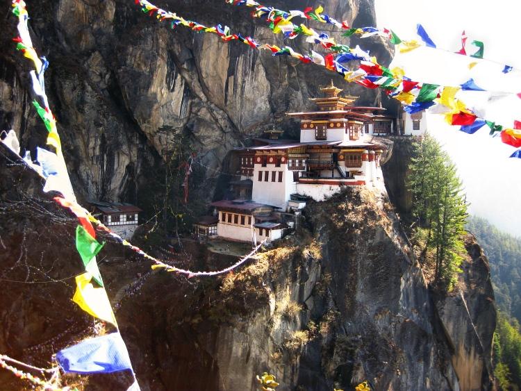 虎穴寺是不丹最闻名的寺庙之一。