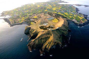 牛岛鸟瞰图。