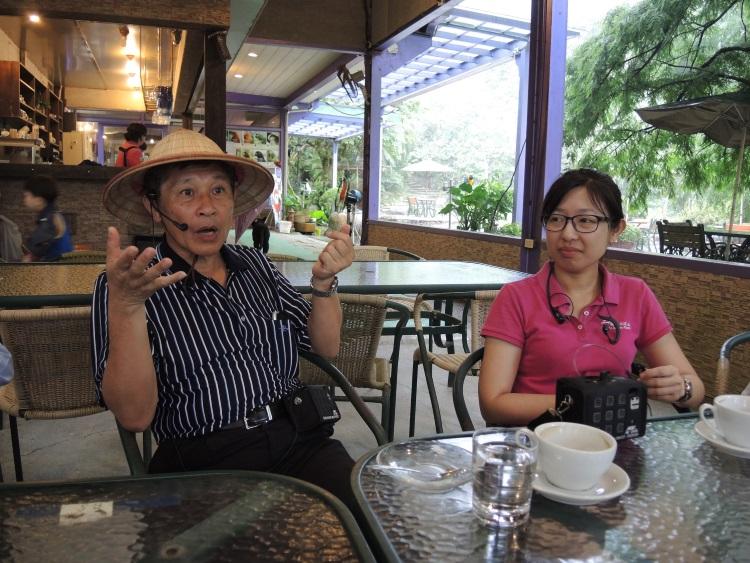 徐文良营造栖地,贯彻生态保育的理念,将由女儿徐俪祯继续实践。
