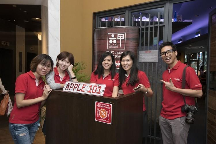 火般热情的Apple 101团队!