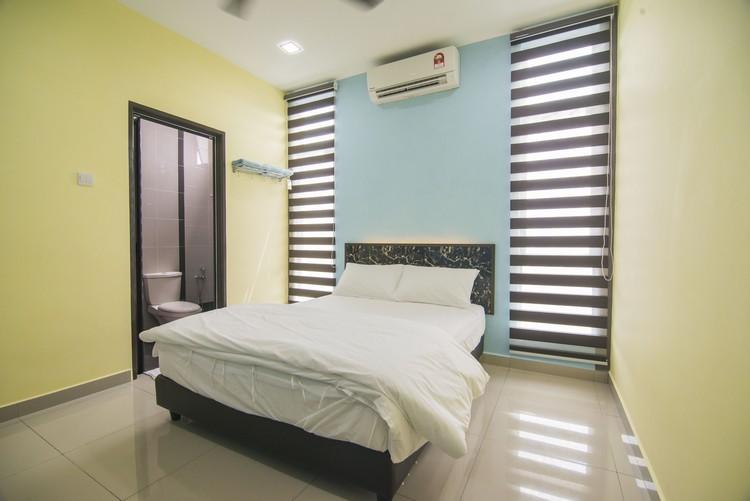 环境干净舒适的双人客房。