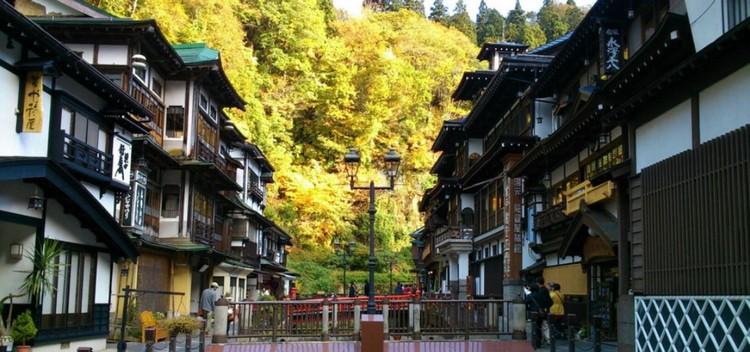 ginzan autumn