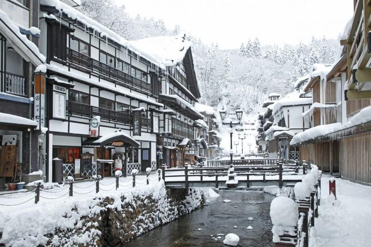 ginzan snow