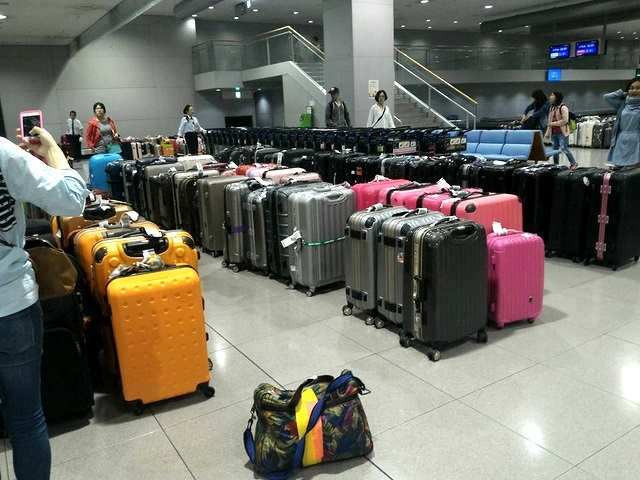 japan luggage '