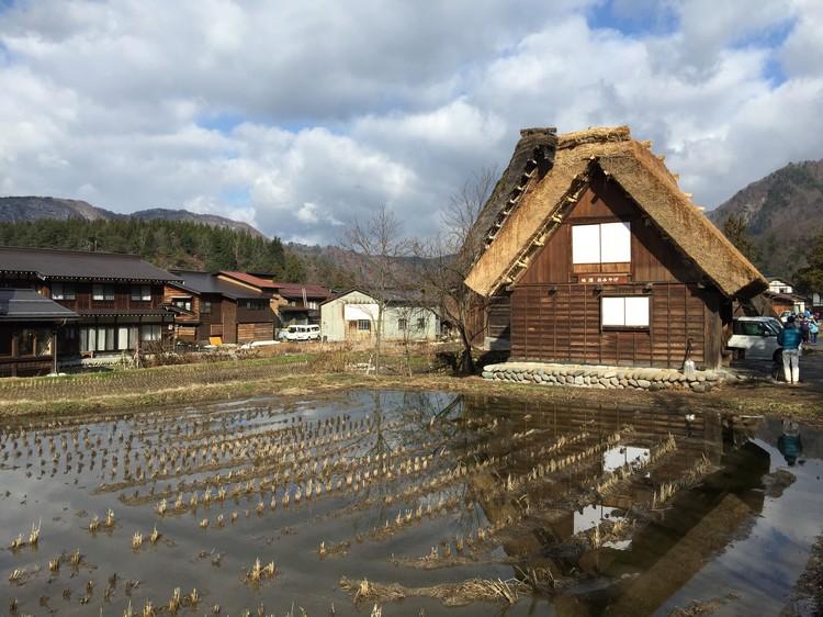 冬季的合掌村没有雪,确实感觉少了点什么......