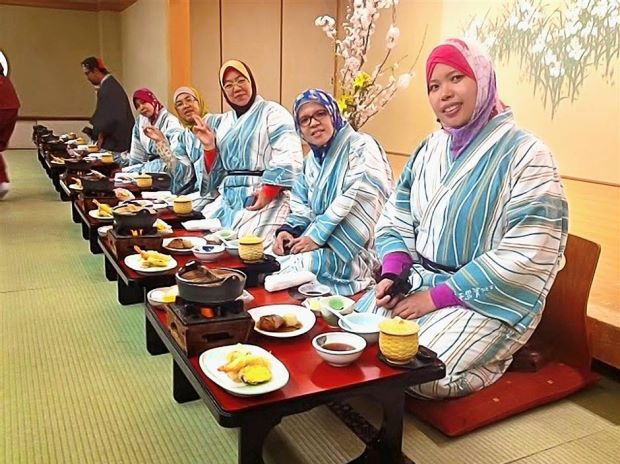 The company caters to Muslim tourists to Japan too.