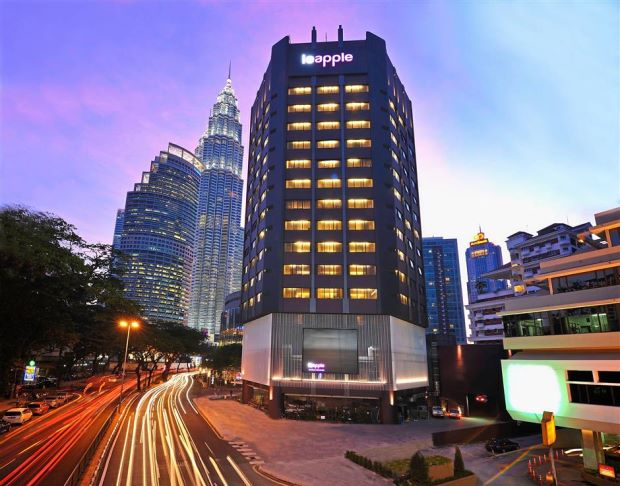 Le Apple Boutique Hotel along Jalan Ampang is owned by Apple Vacations.