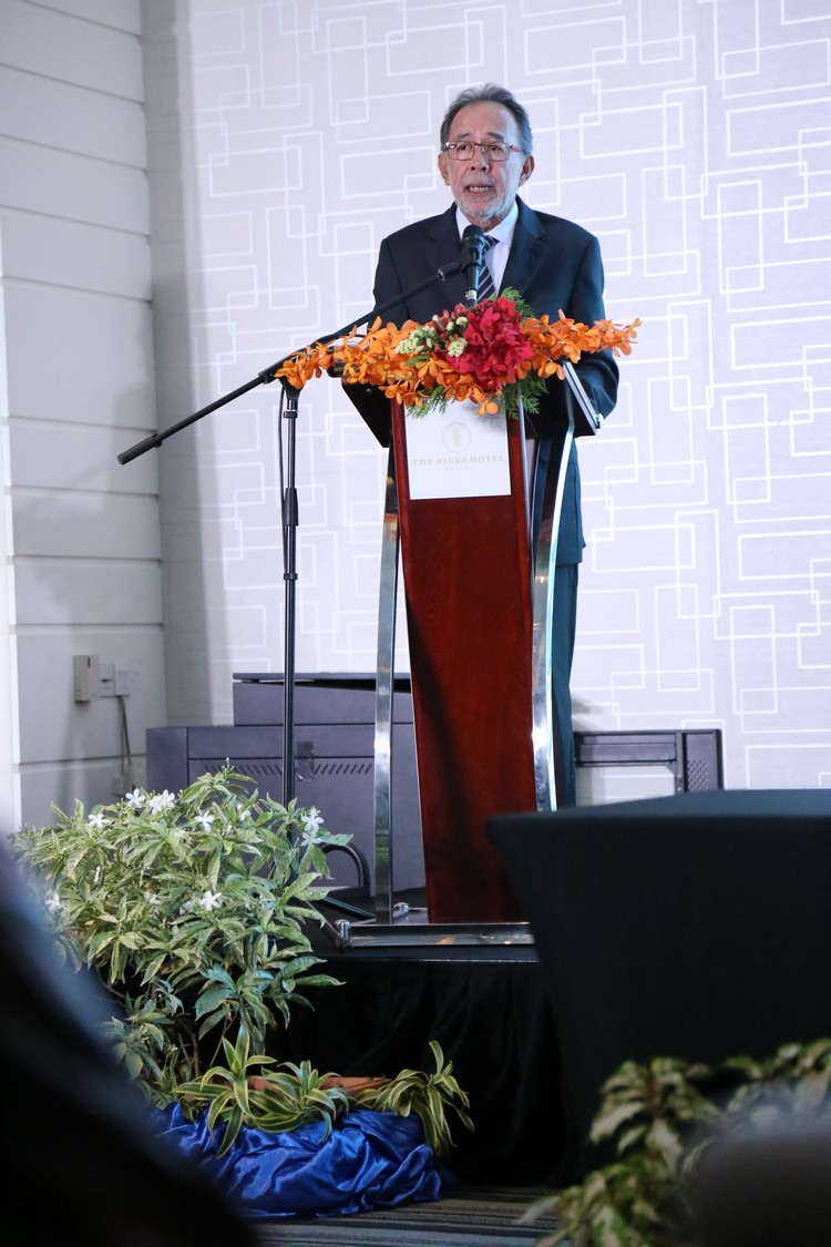 永大集团主席拿督赛诺鲁查曼在致词中感谢各大方的支持。