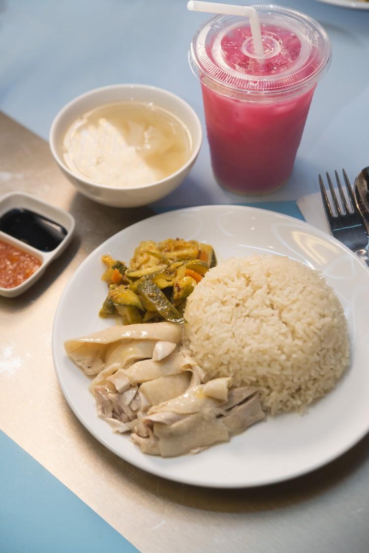新加坡海南鸡饭@ Today's Local Special Set(每日更新,附一杯饮料)