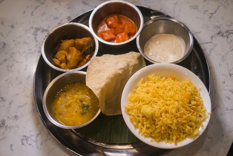 North Indian Vegetarian Set