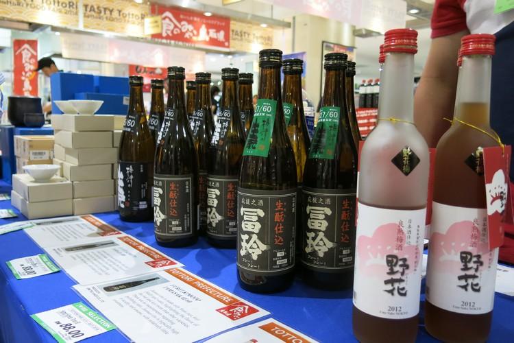 不同种类的日本醇酒,可以试喝哦!