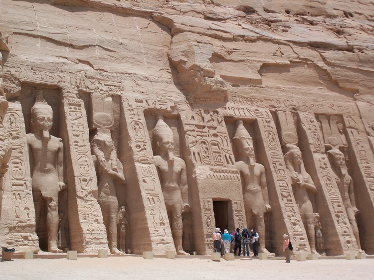 Nefertari's Temple at Abu Simbel