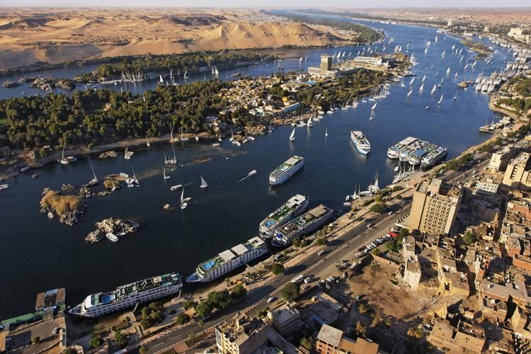 阿斯旺尼罗河一景(图片摘自http://asorblog.org/)