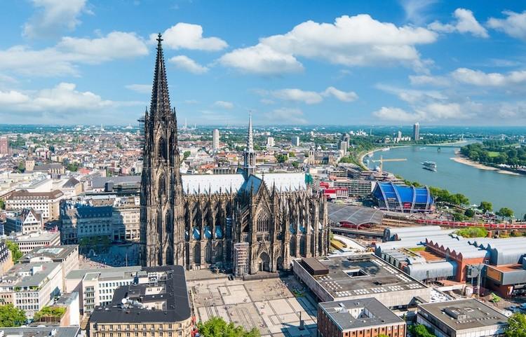 德国标志性建筑 - 科隆的哥德式教堂