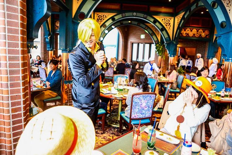《航海王》主题餐厅