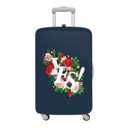 LOQI Artist Collection Luggage Cover | Antonio Rodriguez YES
