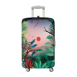 LOQI Artist Collection Luggage Cover | Hvass & Hannibal Arbaro