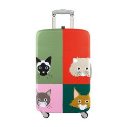 LOQI Artist Collection Luggage Cover | Stephen Cheetham Cats