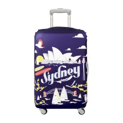 LOQI Urban Collection Luggage Cover   Sydney