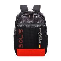 Solis Casual Colorblock Backpack | Line Art Series (Doodle)