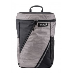 Solis Silver Dazzle Series Laptop Backpack (Silver)