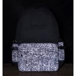 Solis ONES Basic Laptop Backpack   Reflective Spiral Series (Black Layered)