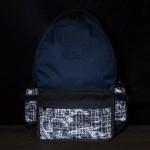 Solis ONES Basic Laptop Backpack | Reflective Skull Series (Pine Green)