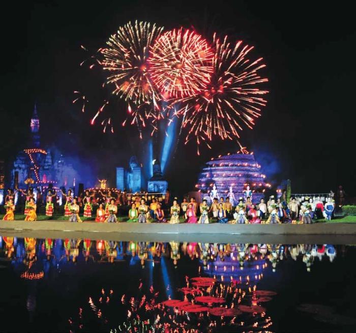Sukhothai Loykrathong Festival