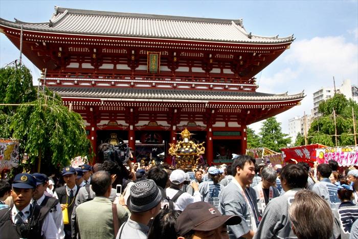 历史悠久的浅草寺