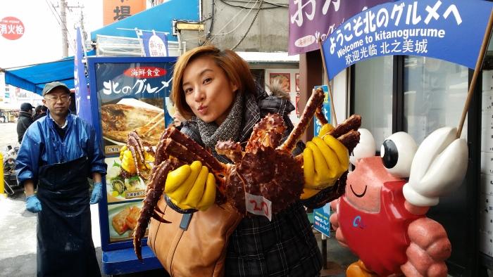 大啖北海道螃蟹!