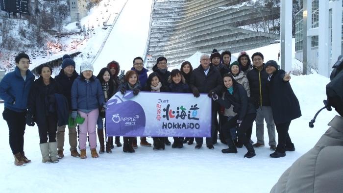 Chui Ling 去年和蘋果旅游合作,和贵宾们一同游冬の北海道+2 晚滑雪度假村,尽享滑雪乐