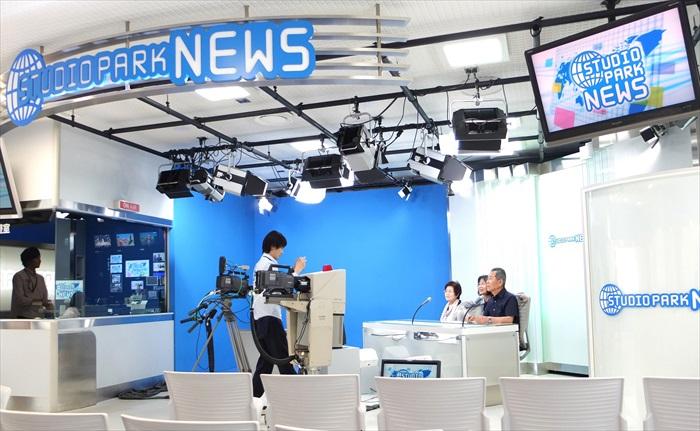 日本NKH电视演播厅让你了解节目的制作
