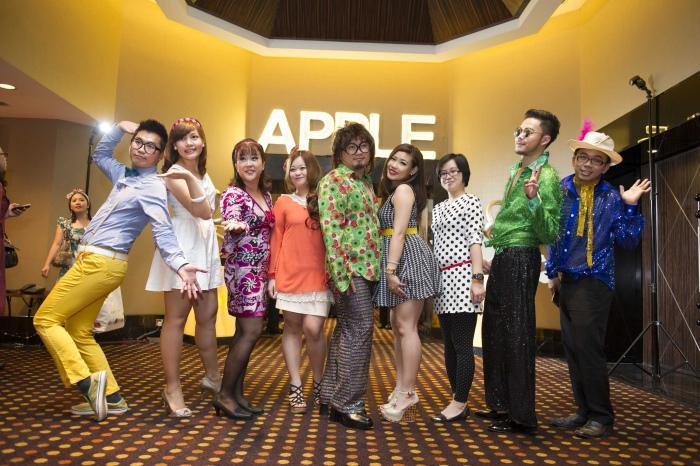 蘋果欧美每一位都注定是属于舞台的。