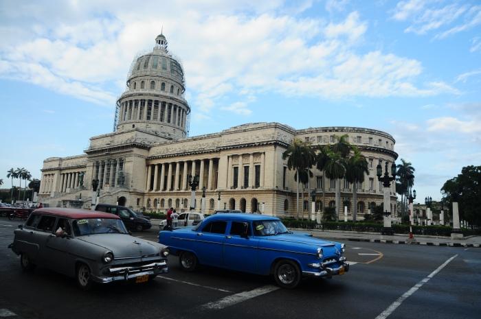 被誉为美国白宫古巴复制版的国会大厦