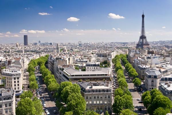 1 View on Paris from Arc de Triomphe