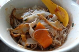 美味的潮州鱼饺面