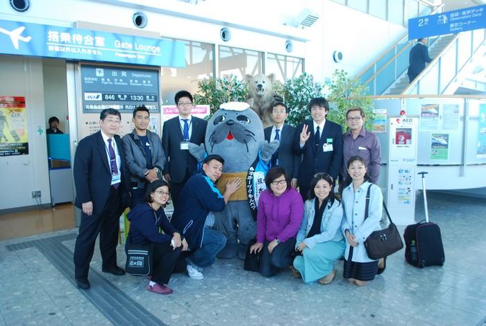 北海道旅游局官方的盛大接待,让我们受宠若惊。