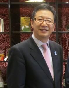 大阪观光局局长加纳国雄