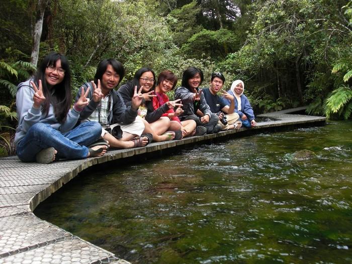 难得遇到马来西亚巫族同胞到纽西兰打工度假。