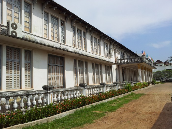 老挝博物馆的外观