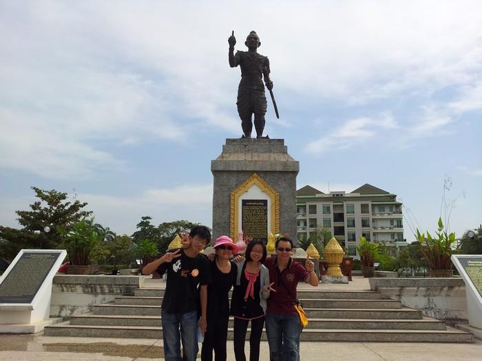 公园内的国王雕像