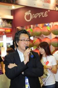 许桑表示,马航事件对旅展毫无影响,今届的蘋果销售量增加了10%。